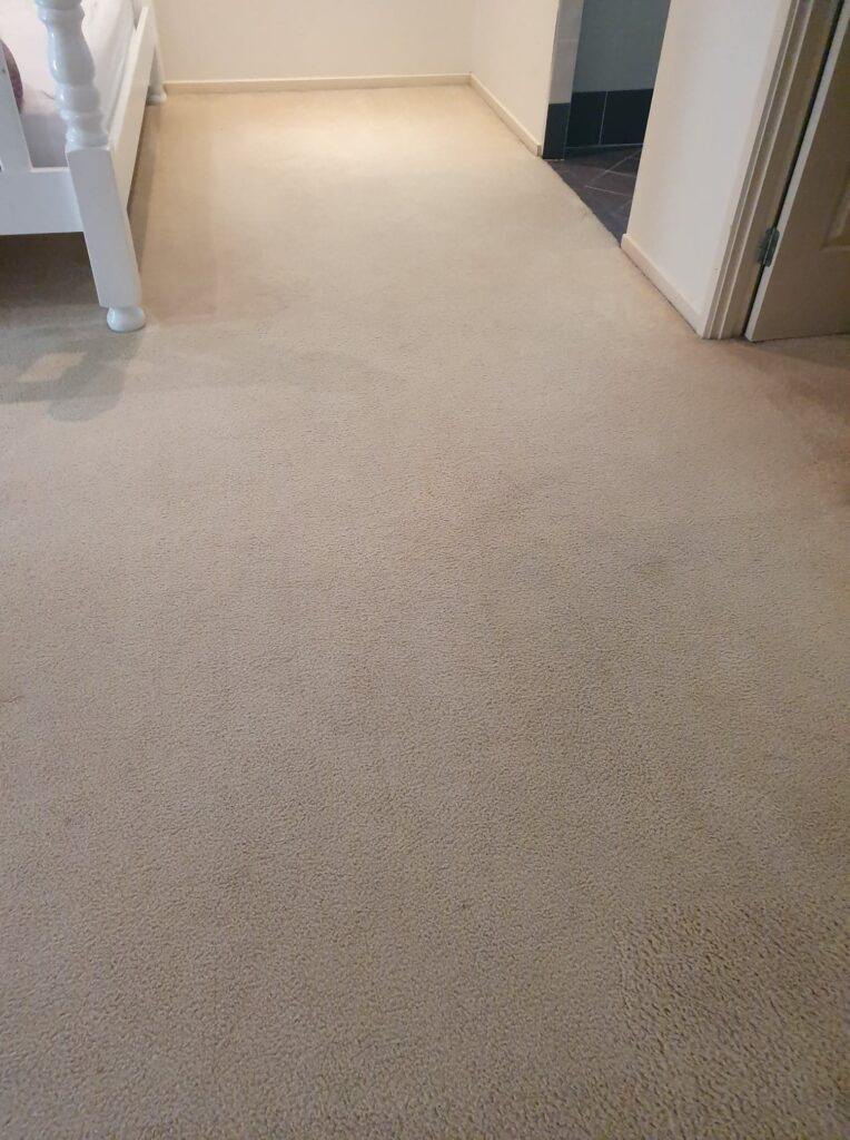Carpet Cleaning Ipswich Bedroom After