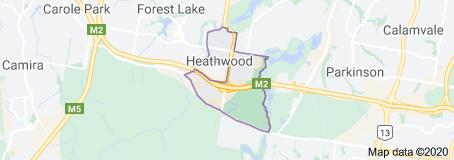 Heathwood Carpet Cleaning Location